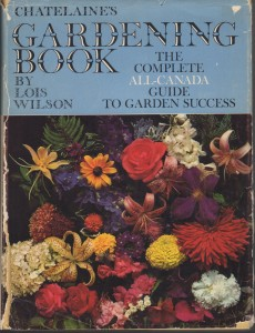 Chatelaine's Gardening Book published in 1970
